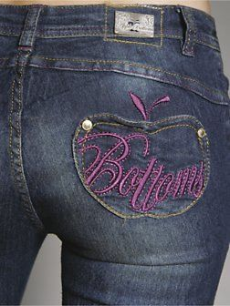 Apple Bottom Jeans!! totally want a pair of these when im skinny