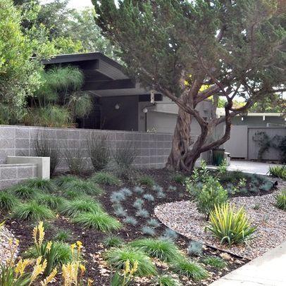 garden design ideas cinder blocks mid century modern garden design mid