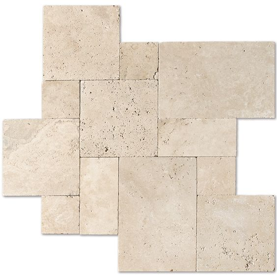 Capri Tumbled Paver Collection Ivory Tumbled Versailles