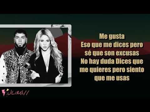 Me Gusta Shakira Anuel Aa Letra 4k Youtube Shakira Music Songs Songs
