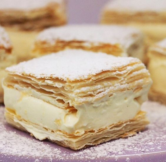 Vanilla Slice Another snack you can find in any decent Aussie bakery, Vanilla Slices are light and creamy enough to justify having two. They're done best with super-flaky pastry, but honestly, it works well no matter what.