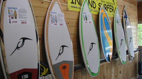 Inland surf boards are the best!