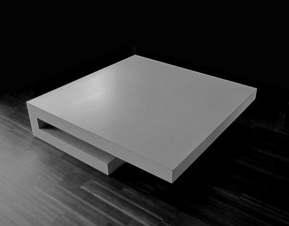 T6Q - beton wohnzimmertisch