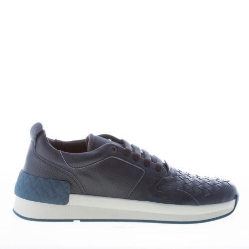 BOTTEGA VENETA men shoes dark blue