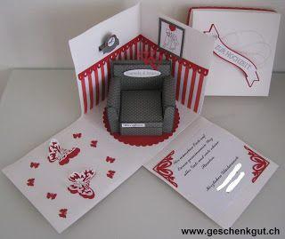Überraschungsbox Geldgeschenk Gutschein Hochzeit ...