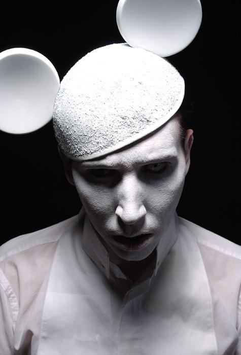 白ミッキーのMarilyn Manson