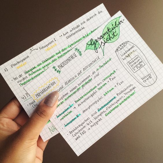 This handwriting is so cute! | 25 Studying Photos That Will Make You Want To Do Well In School For Once: