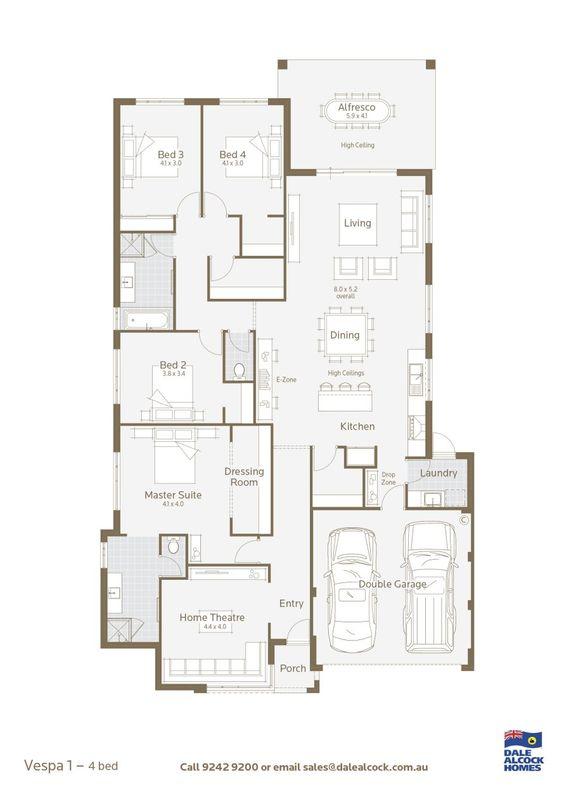 Vespa floor plan builders model in Perth Australia my raves