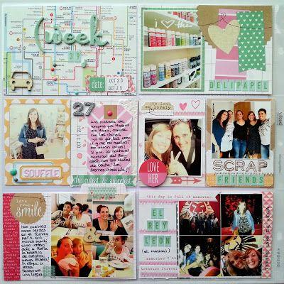 LORA BAILORA: Inspiración Octubre Kits de Somni Project Life