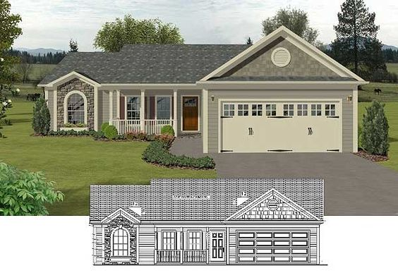 Cottages House Plans And The O 39 Jays On Pinterest