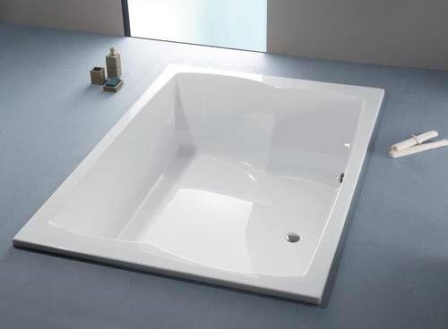 Spazio Grosse Badewanne In Hochwertigem Acryl 2000x1400mm Tiefe
