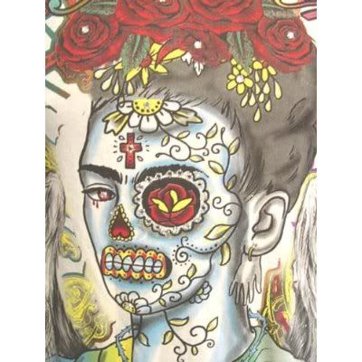 Frida En Dia De Los Muertos Photo:  This Photo was uploaded by maevfoto. Find other Frida En Dia De Los Muertos pictures and photos or upload your own wi...