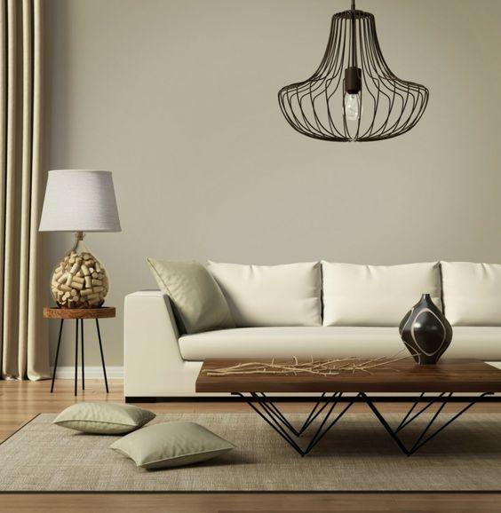 Skandinavisch Wohnen Wohnzimmer Lampe