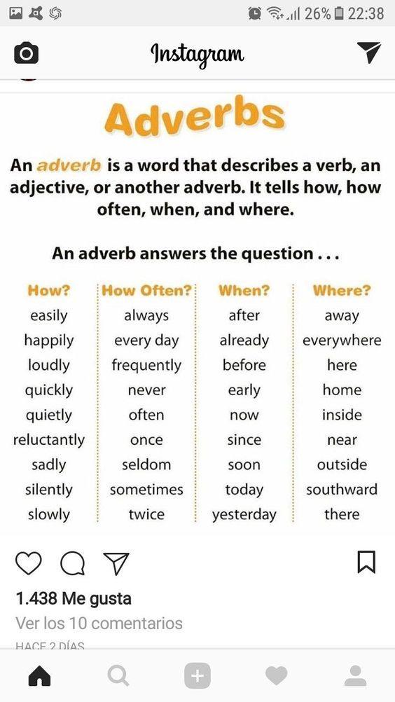 4 Grammar Worksheets Noun Phrases English Language Learning Adverbs Teaching English Grammar Super teacher worksheets adverbs