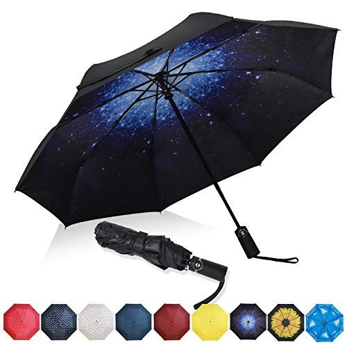 con forma de pl/átano Paraguas plegable con protecci/ón UV para ni/ños de Bielornia