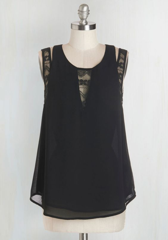 New Cocktail Recipe Top. Whats more exciting than introducing a brand new bevvy to your pals? #black #modcloth
