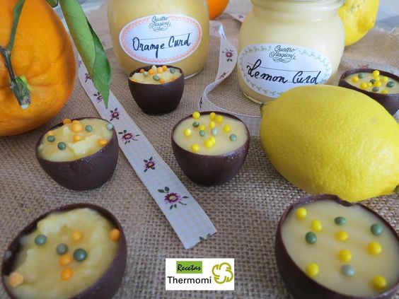 Lemon y Orange curd con Thermomix