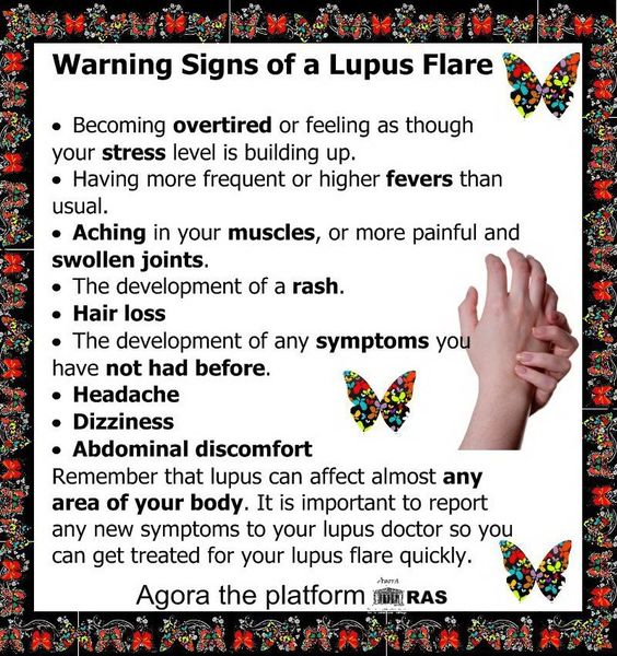 Know and understand when my Lupus is flaring and take it easy that day.  Kick lupus into remission