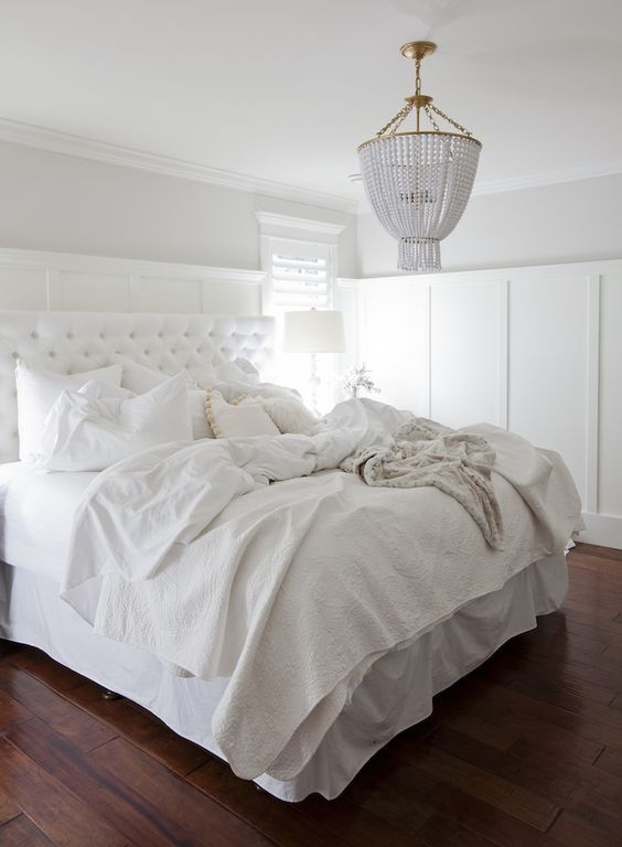 All White Master Bedrooms And Bedrooms On Pinterest