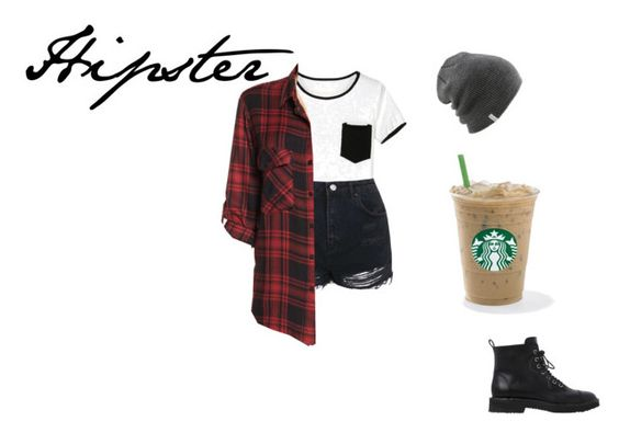 """""""Hipster"""" by pity-party-1 ❤ liked on Polyvore featuring Coal, Topshop, Sanctuary and Giuseppe Zanotti"""