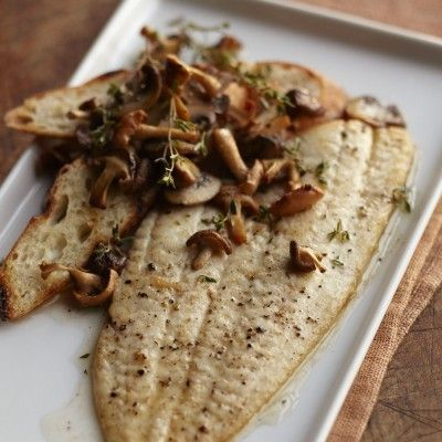 Alaska Sole and Wild Mushrooms | Seafood | Pinterest | Wild Mushrooms ...