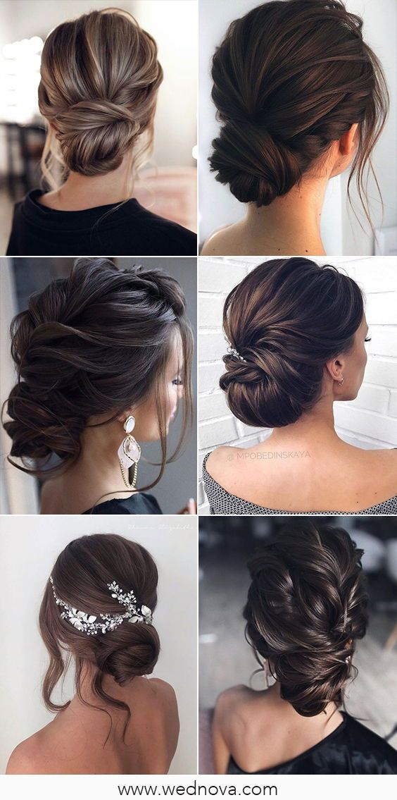 Elegant Bridal Hairstyle Updo Style Hairstyle Hairstyles