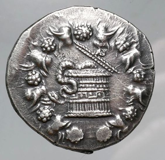 Currently at the #Catawiki auctions: Greek Antiquity - Mysia, Pergamon AR Cistophoric Tetradrachm, c135-128BC