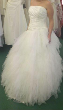 robe de marie eole de chez point mariage t40 couleur ivoire doccasion - Point Mariage La Rochelle