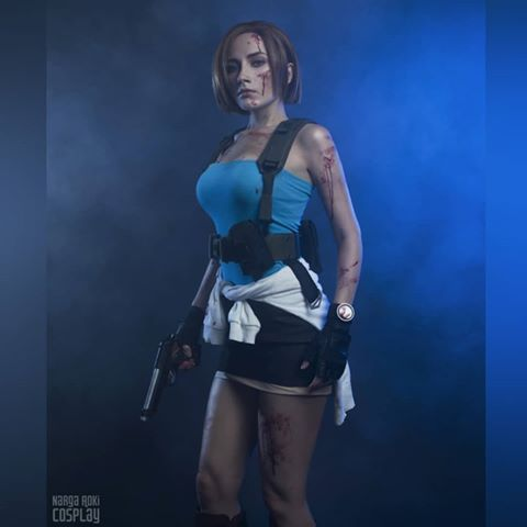 Jill Valentine Resident Evil 3 Nemesis Cosplay Made And