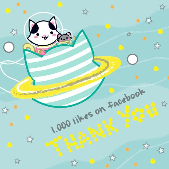 Wow! 1000 likes in Facebook! You can also follow us to keep following our…
