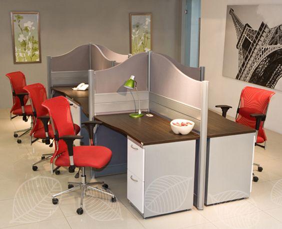 Áreas de trabajo que brindan privacidad y comodidad, su diseño permite que luzcan en cualquier espacio! #MoberContigo