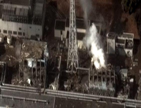 The Fukushima I Nuclear Power Plant after the 2011 Tōhoku earthquake and tsunami