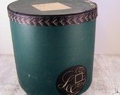 Vintage Hat Box by Lee Water Bloc Fifth Avenue
