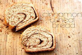 rouge & whimsy: recipe: cinnamon wheat bread
