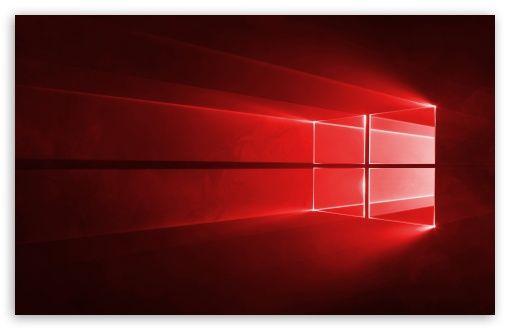 Windows 10 Red In 4k Hd Wallpaper For 4k Uhd Widescreen Desktop Smartphone Windows 10 Hd Wallpaper Wallpaper
