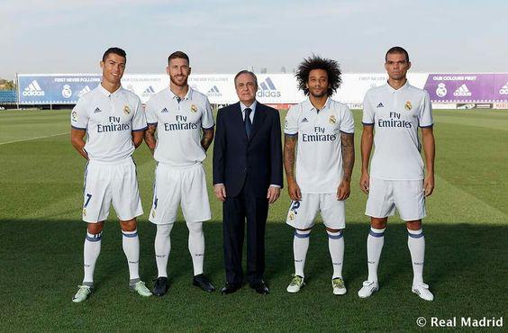 Florentino Pérez y los capitanes