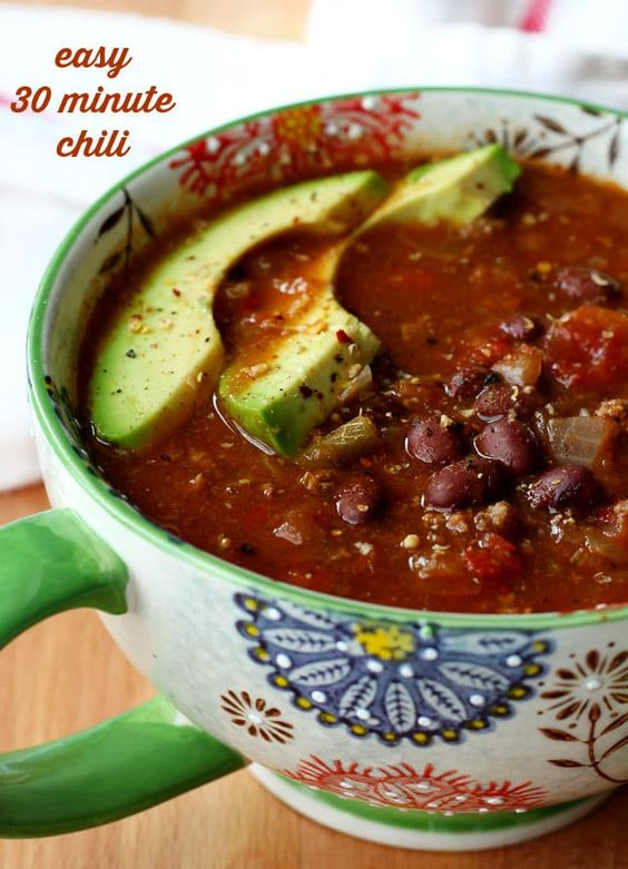 Sharing 15 Healthy Cozy Soup & Chili Recipes to warm you up
