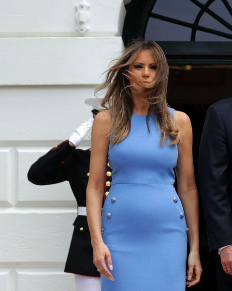 46 Of Melania Trump S Most Talked About Looks Trump Fashion Melania Trump Dress Fashion