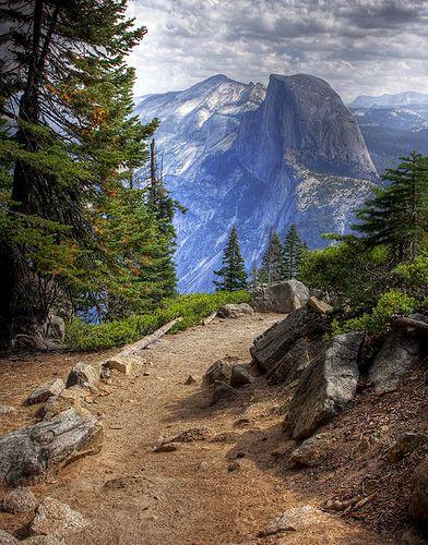 Half Dome @ Yosemite National Park, U.S.; America (northern continent)