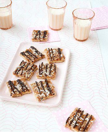 Caramel-Chocolate Cookie Bars http://wm13.walmart.com/Cook/Recipes/32863