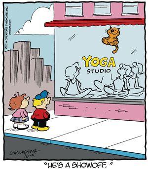 Heathcliff Comic Strip, October 05, 2016 on GoComics.com
