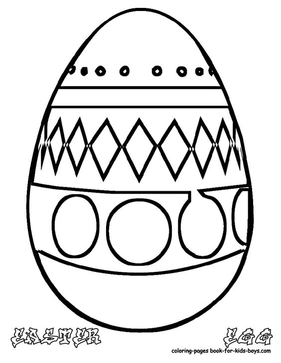 Easter Egg Colouring Pages at coloring-pages-book-for-kids ...