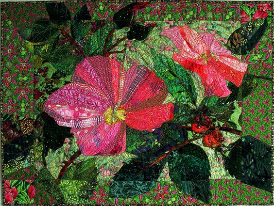 Margo Quilts Gallery: Florals