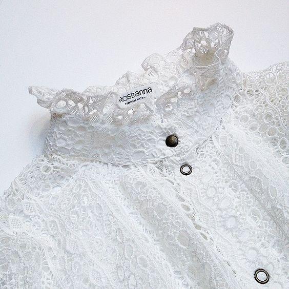 #chemise #dentelle #blanc #edgar #guipure #fabriqueenfrance #roseanna #lesappartementsdejuju