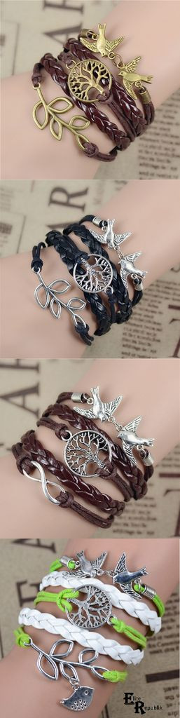 Pigeons Bracelet: