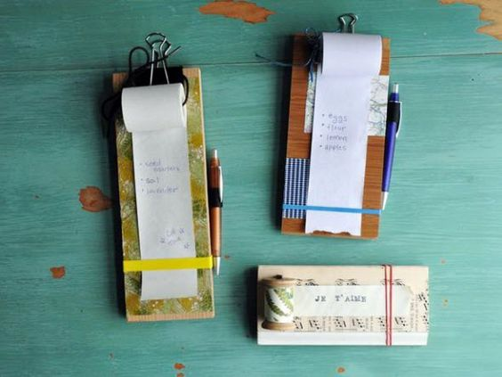 HGTV How-To: Make a Hanging Notepad