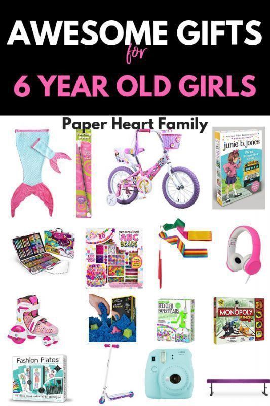unusual gifts for 6 year olds