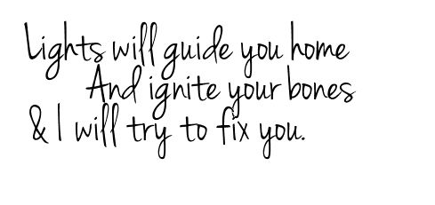 I will try to fix you...at least I'd like to