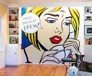 DIY Wall Pop Art | Cartoon art, Cartoon and Pop art
