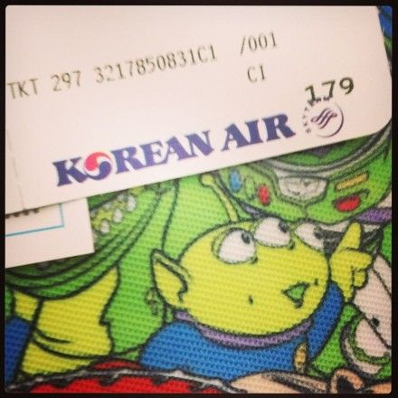 「2013第二蹦韓國,一個人的旅行。」// The second trip in 2013, flying to Korea, traveling by myself.   #TaecGui